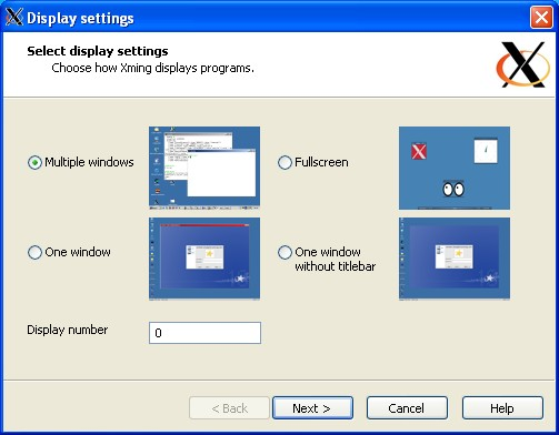 Installing/Configuring PuTTy and Xming