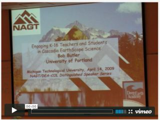 Engaging K-16 Teachers and Students in Cascadia EarthScope Science